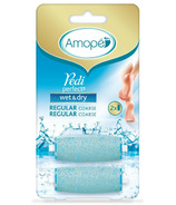 Amope Pedi Perfect Wet & Dry Rechargeable Waterproof Foot File Refills