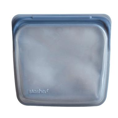 Stasher Reusable Storage Bag Grey