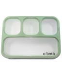o bnto Bento Box 4 Compartment Moss Green