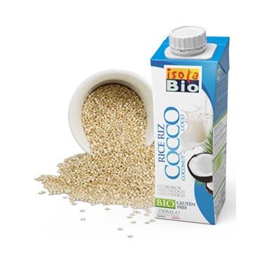 Isola Bio Coconut Rice Beverage To Go