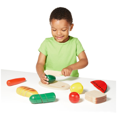 Melissa & Doug Wooden Play Food
