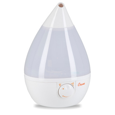Crane Cool Mist Teardrop Humidifier White