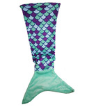 Karmin Mermaid Tail Blanket Blue