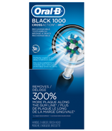 Oral-B Pro CrossAction 1000 Black Rechargeable Power Toothbrush
