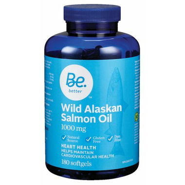 Be Better Wild Alaskan Salmon Oil