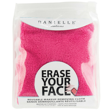 Danielle Erase Your Face Makeup Removing Cloth Black