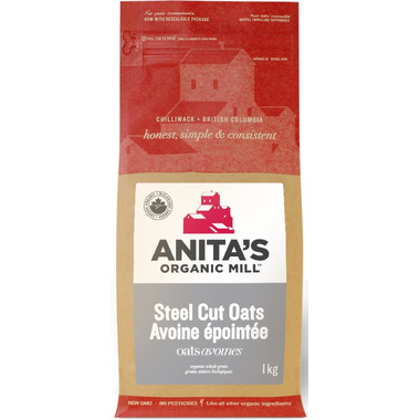 Anita\'s Organic Mill Organic Steel Cut Oats