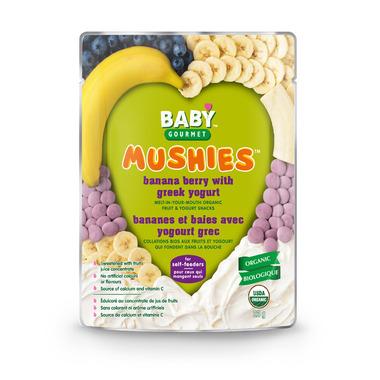 Baby Gourmet Mushies Banana Berry with Greek Yogurt