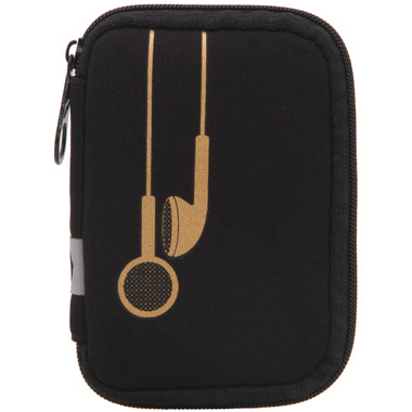 MYTAGALONGS Plug In Metallic Earbud Case