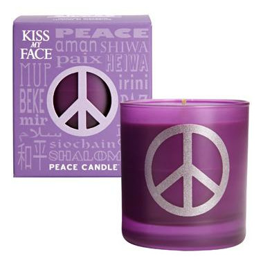 Kiss My Face Peace Soy Candle