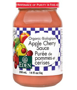Eden Foods Organic Apple Cherry Sauce