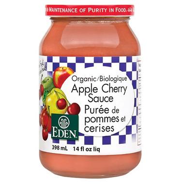 Eden Foods Organic Apple Cherry Sauce
