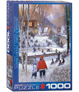 Eurographics Hockey Season by Douglas R. Laird Puzzle