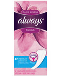 Always Thong Daily Liners Regular