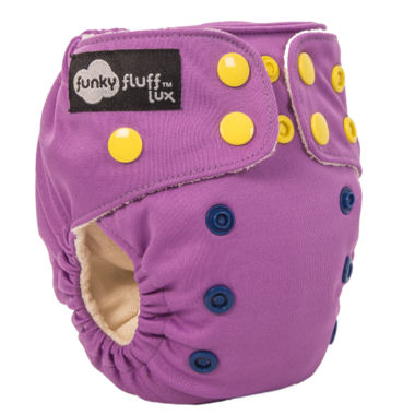 Funky Fluff Newborn Diaper System Hallucination
