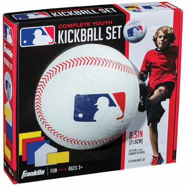 "Franklin Sports MLB 8.5"" Rubber Kickball Set"
