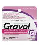 Gravol Immediate Release & Long Acting Caplets