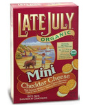 Late July Organic Cheddar Mini Sandwich Crackers
