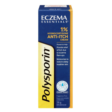 Polysporin Eczema Essentials 1% Hydrocortisone Cream