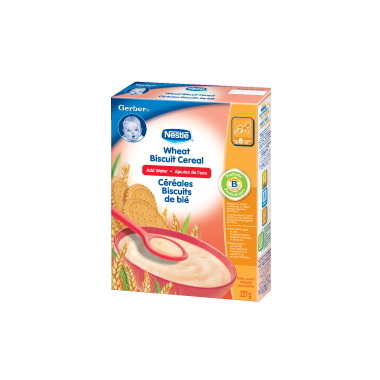 Gerber Baby Cereal - Wheat Biscuit (Add Water)