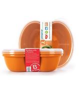 Preserve Sandwich Food Storage Containers Orange