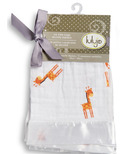 Lulujo Baby Muslin Cotton Security Blankets Giraffes
