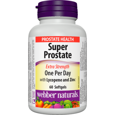 Webber Naturals Extra Strength Super Prostate