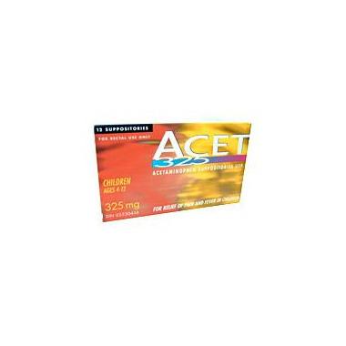 ACET Acetaminophen Suppositories