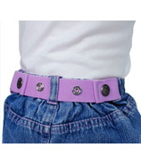 Dapper Snappers Toddler Belt Lavender