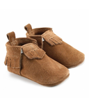 Mally Designs Chestnut Lux Suede Mally Mocs