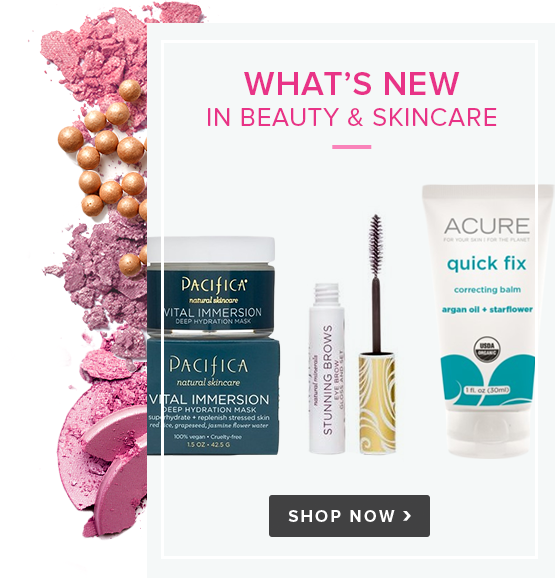 What's New in Beauty & Skincare