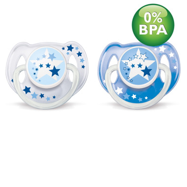 Philips AVENT Nighttime Glow in the Dark Pacifiers