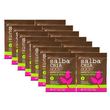 Salba Whole Seed Chia Boost Single Servings