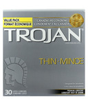 Trojan Thin Lubricated Condoms