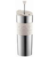 Bodum Travel Press Coffee Maker White