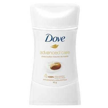 Dove Advanced Care Antiperspirant Deodorant Stick Shea Butter