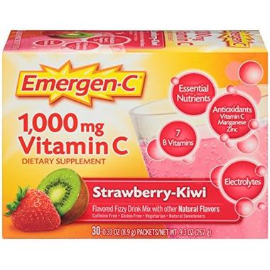 Emergen-C Super Energy Booster Instant Drink Mix