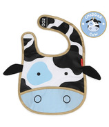 Skip Hop Zoo Bibs Tuck-Away Bib Cow