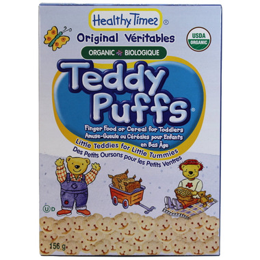 Healthy Times Teddy Puffs