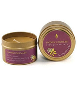 Honey Candles Beeswax Essentials Tin Country Lavender