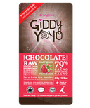 Giddy Yoyo Raspberry Dark Chocolate Bar