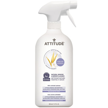 ATTITUDE Natural Window & Mirror Cleaner