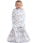Halo 100% Cotton SleepSack Swaddle Blue Race Track