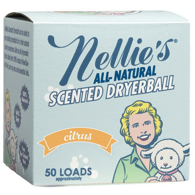 Nellie\'s All-Natural Citrus Scented Wool Dryerball