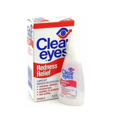how to clear eyes without eye drops