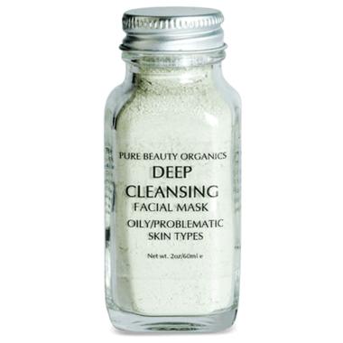 Pure Beauty Organics Deep Cleansing Facial Mask