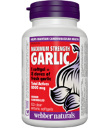 Webber Naturals Garlic Maximum Strength 500 mg
