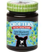 Crofter's Organic Wild Blueberry Just Fruit Spread