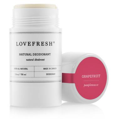 LOVEFRESH Grapefruit Natural Cream Deodorant Stick