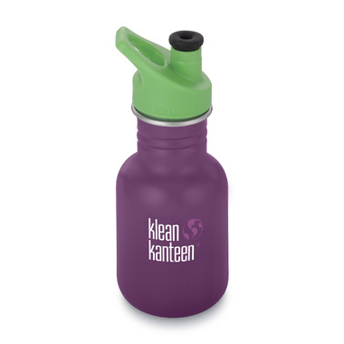 Klean Kanteen Kid Classic with Kid Sport Cap 3.0 Winter Plum